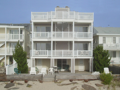 Ocean City Vacation Rentals Beach Front 5443 Central Avenue