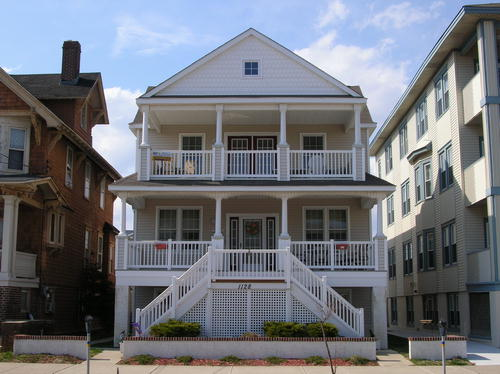 Ocean City Vacation Rentals Beach Block 1128 Ocean Avenue