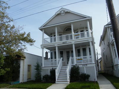 Ocean City Vacation Rentals Boardwalk (7th-14th) 1407 West Avenue