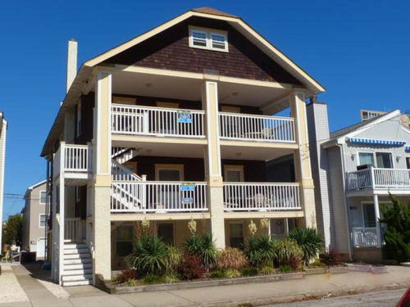 Ocean City Vacation Rentals Beach Block 891 Fourth Street