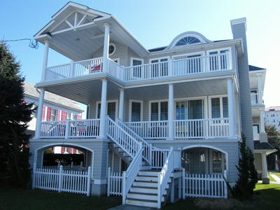 Ocean City Vacation Rentals Boardwalk (7th-14th) 1025 Wesley Avenue