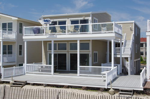 Ocean City Vacation Rentals Beach Front 4015 Central Avenue