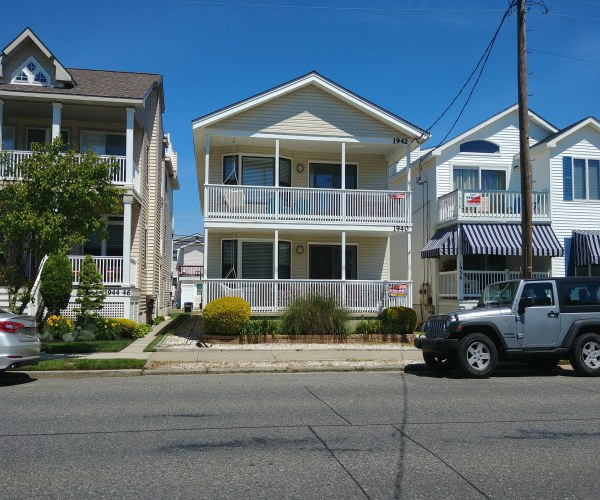 Ocean City Vacation Rentals Central (15th-23rd) 1940 Asbury Avenue