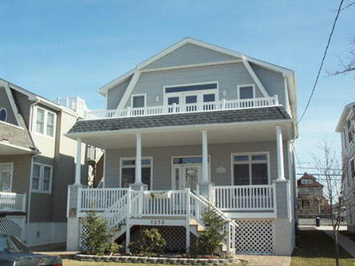 Ocean City Vacation Rentals Boardwalk (7th-14th) 1213 Central Avenue
