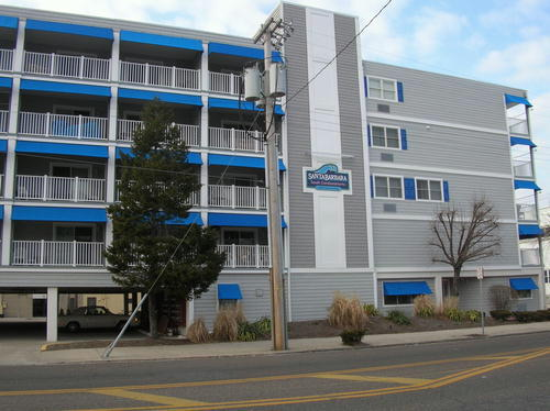 Ocean City Vacation Rentals Boardwalk (7th-14th) 1008 Wesley Avenue (Santa Barbara South)