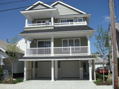 Ocean City Vacation Rentals Beach Block 803 Pennlyn Place