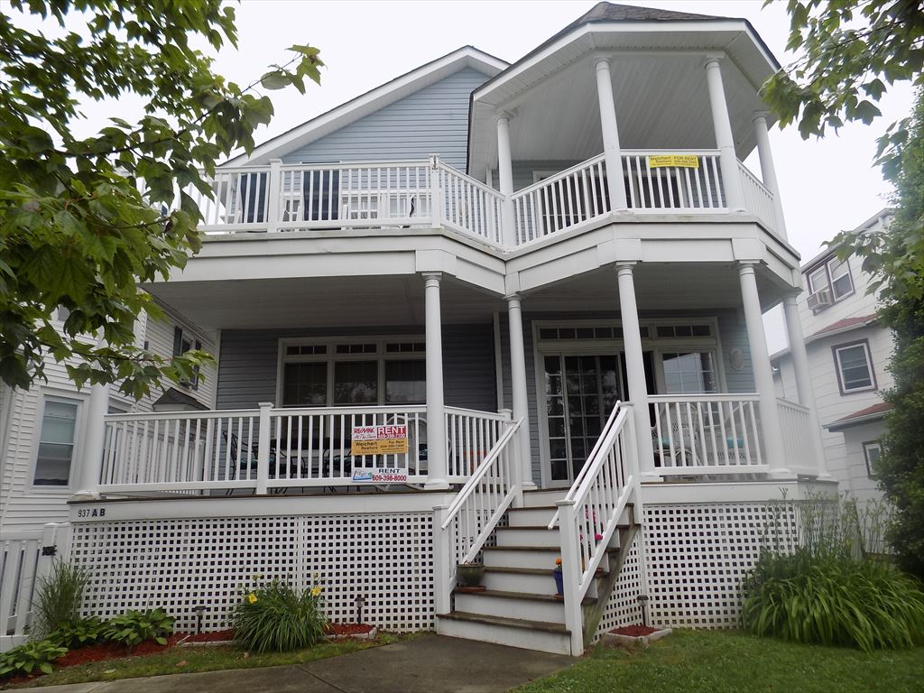 Ocean City Vacation Rentals Boardwalk (7th-14th) 937 Central Avenue