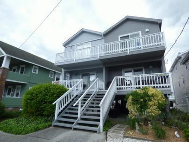 Ocean City Vacation Rentals Beach Block 838 4th Street