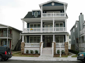 Ocean City Vacation Rentals Beach Block 908 St. Charles Place