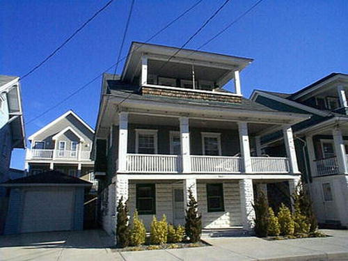 Ocean City Vacation Rentals Beach Block 861 Delancy Place