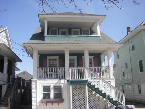 Ocean City Vacation Rentals Beach Block 863 Delancy Place