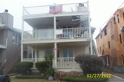 Ocean City Vacation Rentals Central (15th-23rd) 1620 Wesley Avenue