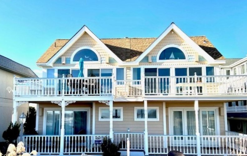 Ocean City Vacation Rentals Beach Front 2215 Wesley Avenue
