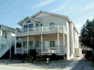 Ocean City Vacation Rentals Central (15th-23rd) 1817 Asbury Avenue