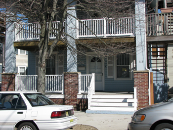 Ocean City Vacation Rentals North End (1st-6th) 713 First Street