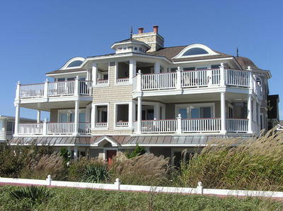 Ocean City Vacation Rentals Beach Front 2319 Wesley Avenue  N