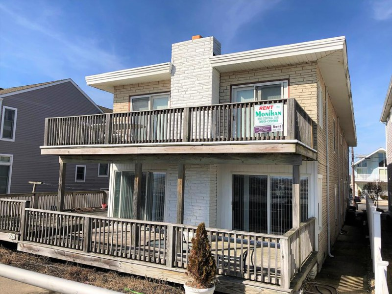 Ocean City Vacation Rentals Beach Front 2237 Wesley Ave