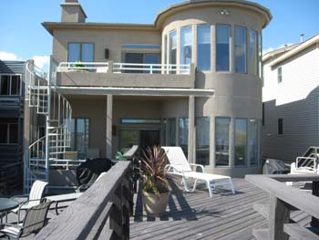 Ocean City Vacation Rentals Beach Front 4929 Central Ave.