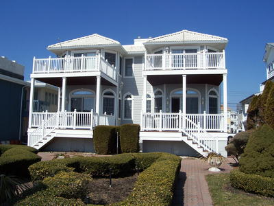 Ocean City Vacation Rentals Beach Front 2037 Wesley Avenue