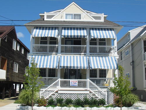 Ocean City Vacation Rentals Beach Block 907 2nd Street