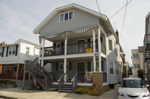 Ocean City Vacation Rentals Beach Block 857 Pelham Place