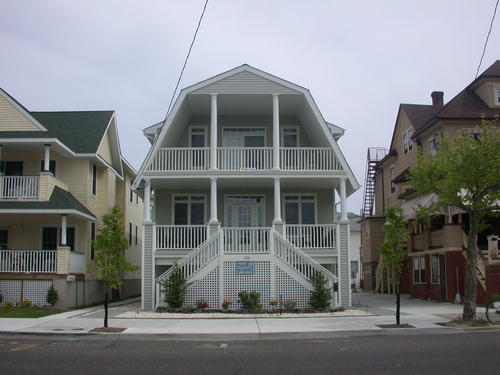Ocean City Vacation Rentals Boardwalk (7th-14th) 1213 Wesley Ave