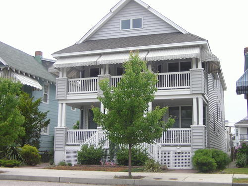 Ocean City Vacation Rentals Beach Block 836 St. Charles Place