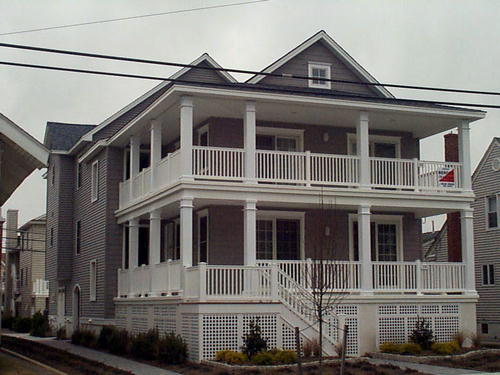 Ocean City Vacation Rentals Boardwalk (7th-14th) 1222 Wesley Avenue