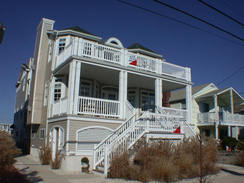 Ocean City Vacation Rentals Beach Block 4008 Central Avenue