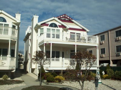 Ocean City Vacation Rentals Beach Block 1330 Ocean Avenue
