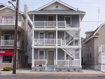 Ocean City Vacation Rentals Boardwalk (7th-14th) 1349 West Avenue