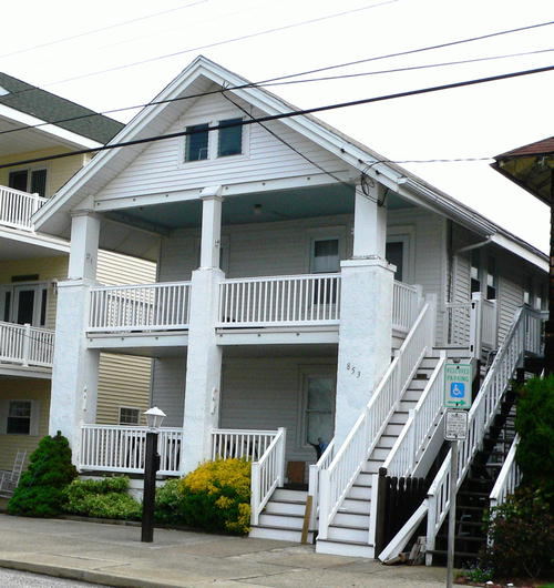 Ocean City Vacation Rentals Beach Block 853 St James
