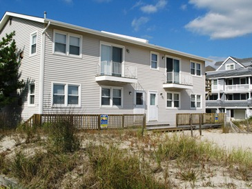 Ocean City Vacation Rentals Beach Front 919 Brighton Place