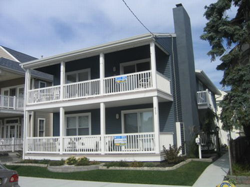 Ocean City Vacation Rentals Beach Block 839 A Brighton Place