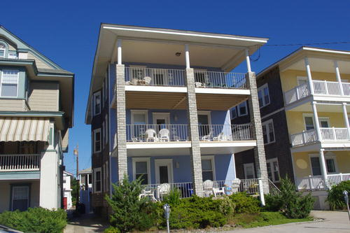 Ocean City Vacation Rentals Boardwalk (7th-14th) 1424 Ocean Avenue